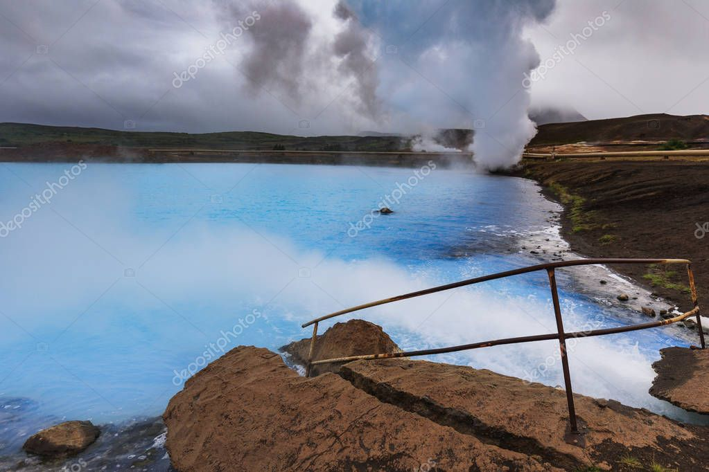 Myvatn nature baths in the north of iceland