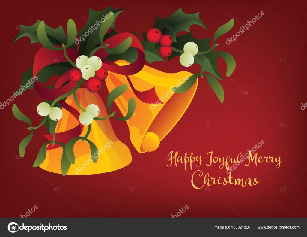 Saisonale Grußkarte A Holly Jolly Merry Christmas und Jingle ...