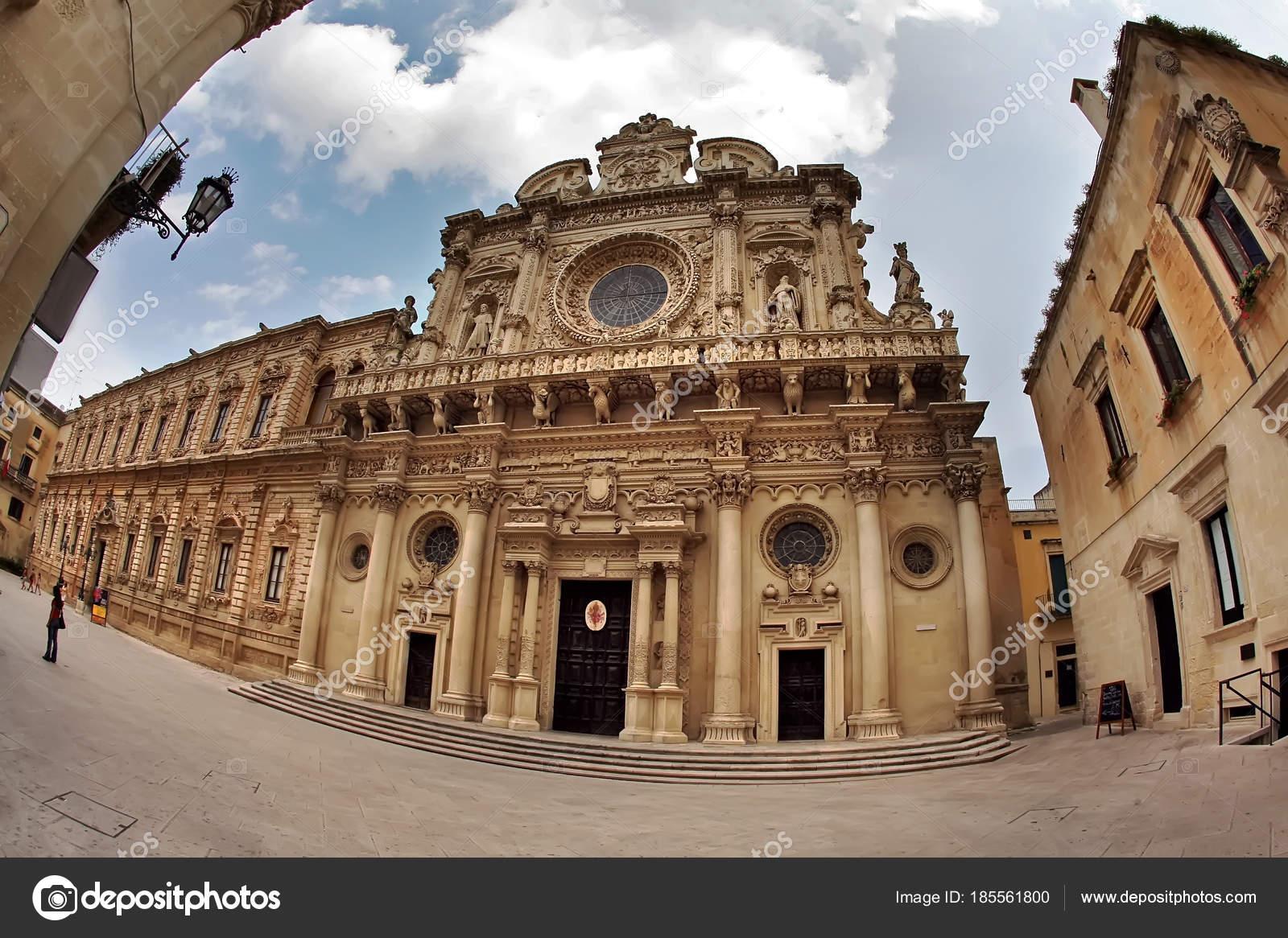 Basilica De Santa Croce Iglesia De La Santa Cruz Lecce Puglia