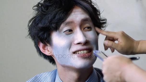 Videos De Maquillaje De Halloween.Hombre Japones Conseguir Maquillaje Halloween