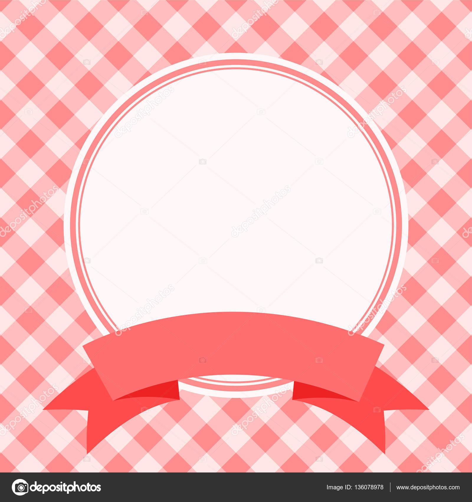 roter Rahmen für Einladungskarte — Stockvektor © Ann_Precious #136078978