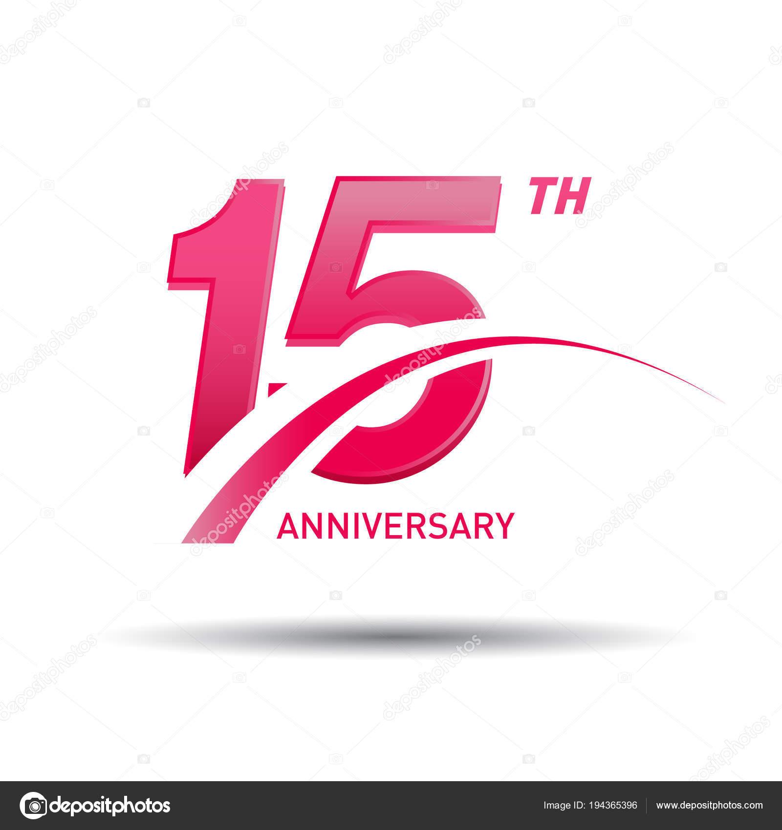 Sfondo Logo A Bianca Rosso Logo Rosso Anniversario Anni Sfondo