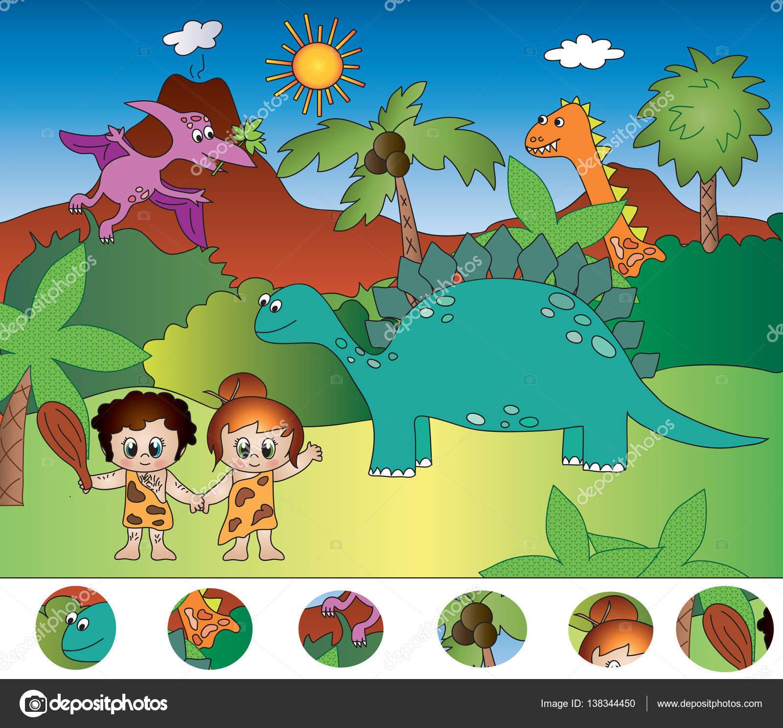 Visual Giochi Di Dinosauri Foto Stock Casaltamoiola 138344450