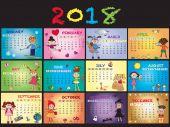 Fotografie Kalender 2018 mit Kindern