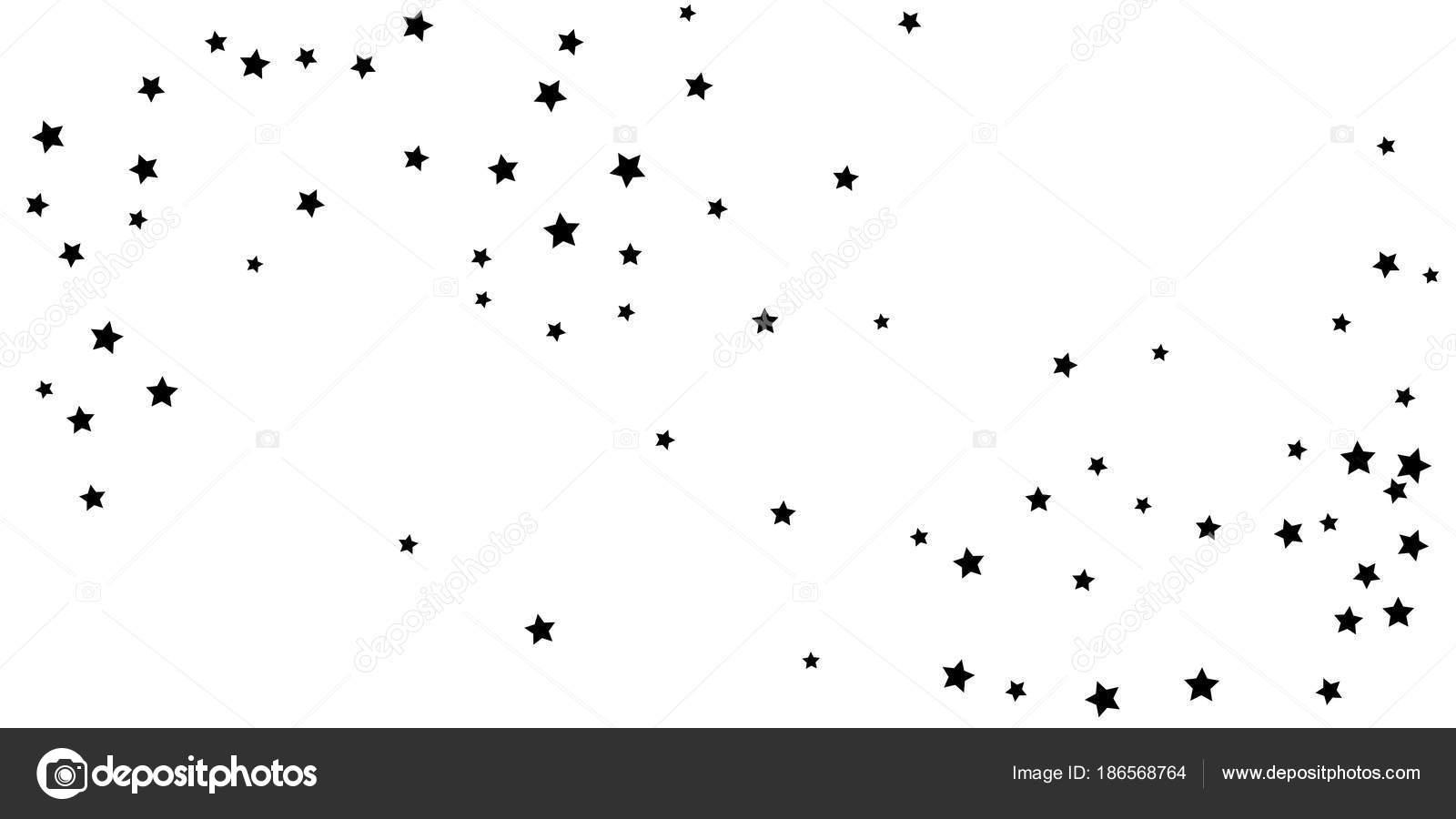 Abstrakte Fliegenden Konfetti Sterne Eine Sternschnuppe Hintergrund