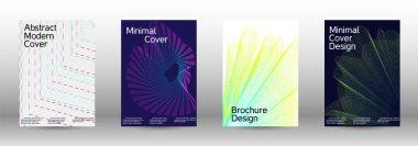 Cover design template set