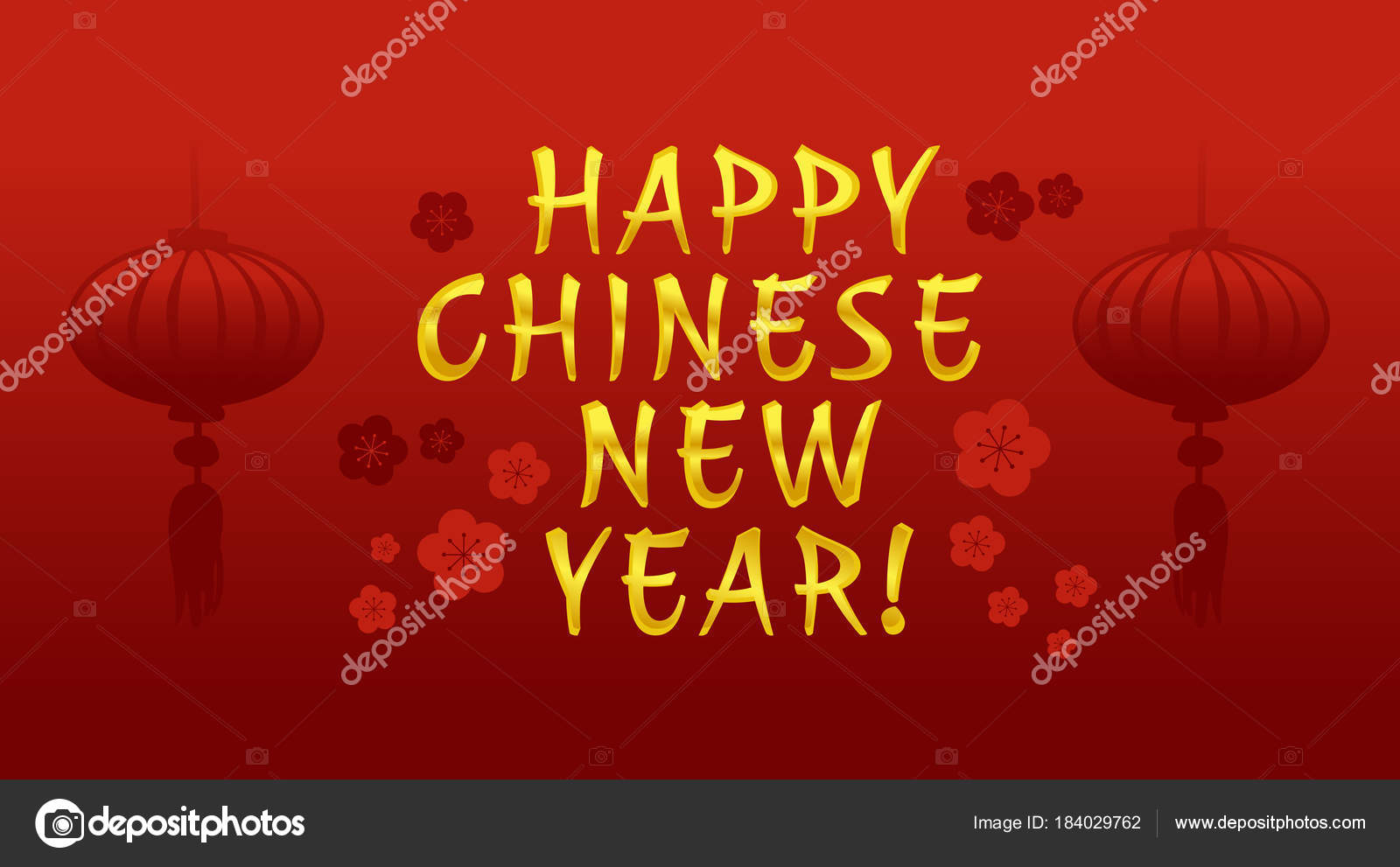 Happy chinese new year greeting card banner in vector stock vector happy chinese new year greeting card banner in vector stock vector m4hsunfo