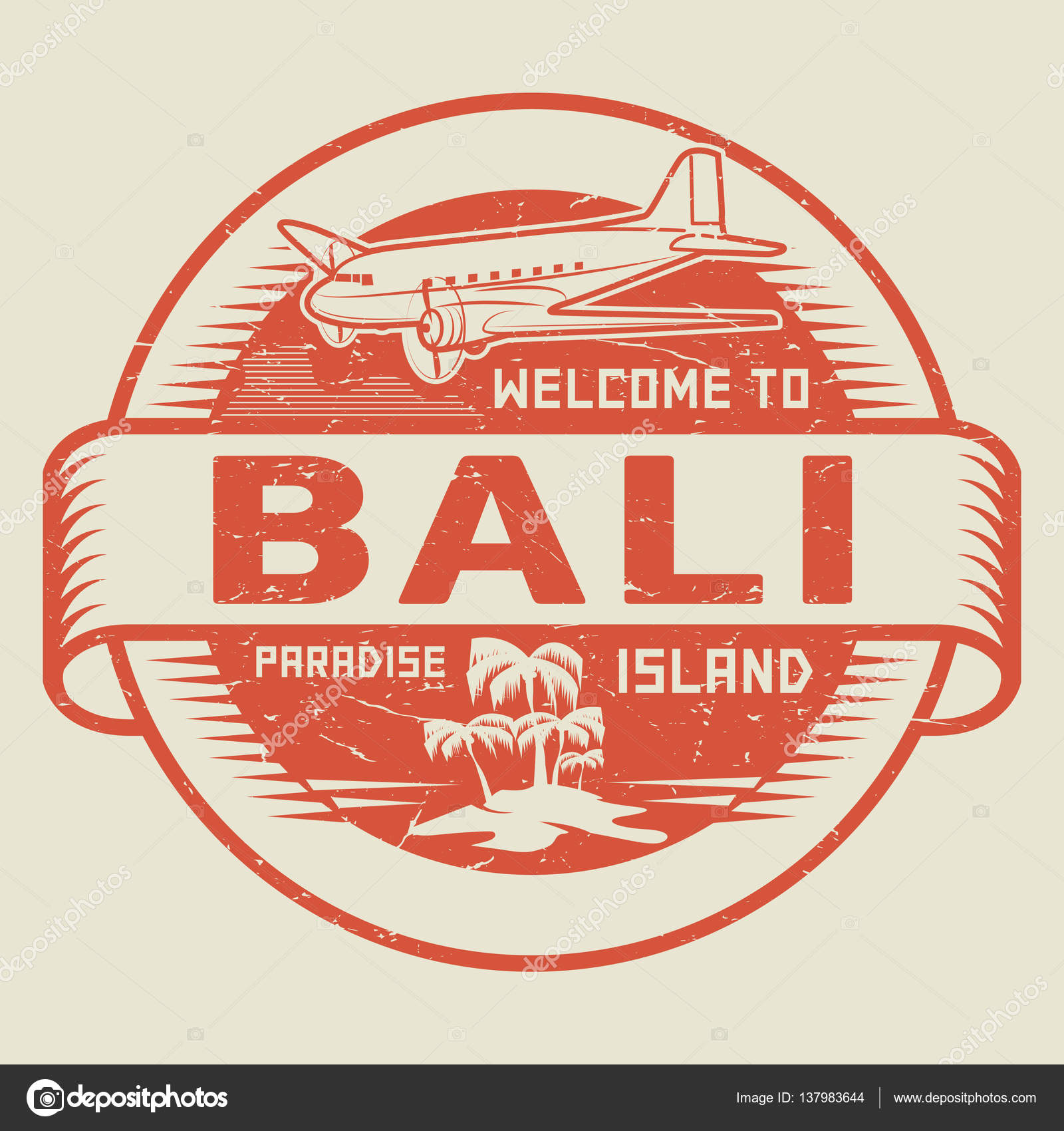Stamp with the text welcome to bali paradise island stock vector stamp with the text welcome to bali paradise island stock vector altavistaventures Gallery