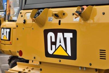 Caterpillar heavy duty equipment vehicle and logo
