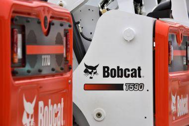 Bobcat heavy duty equipment vehicle and logo