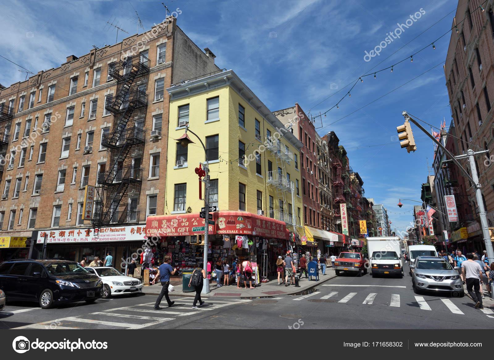 China town, NYC – Stock Editorial Photo © _fla #171658302