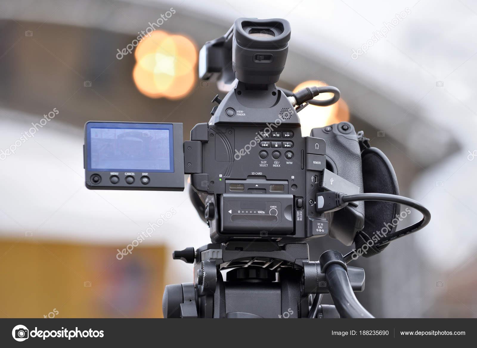 Professional Video Camera — Stock Photo © _fla #188235690