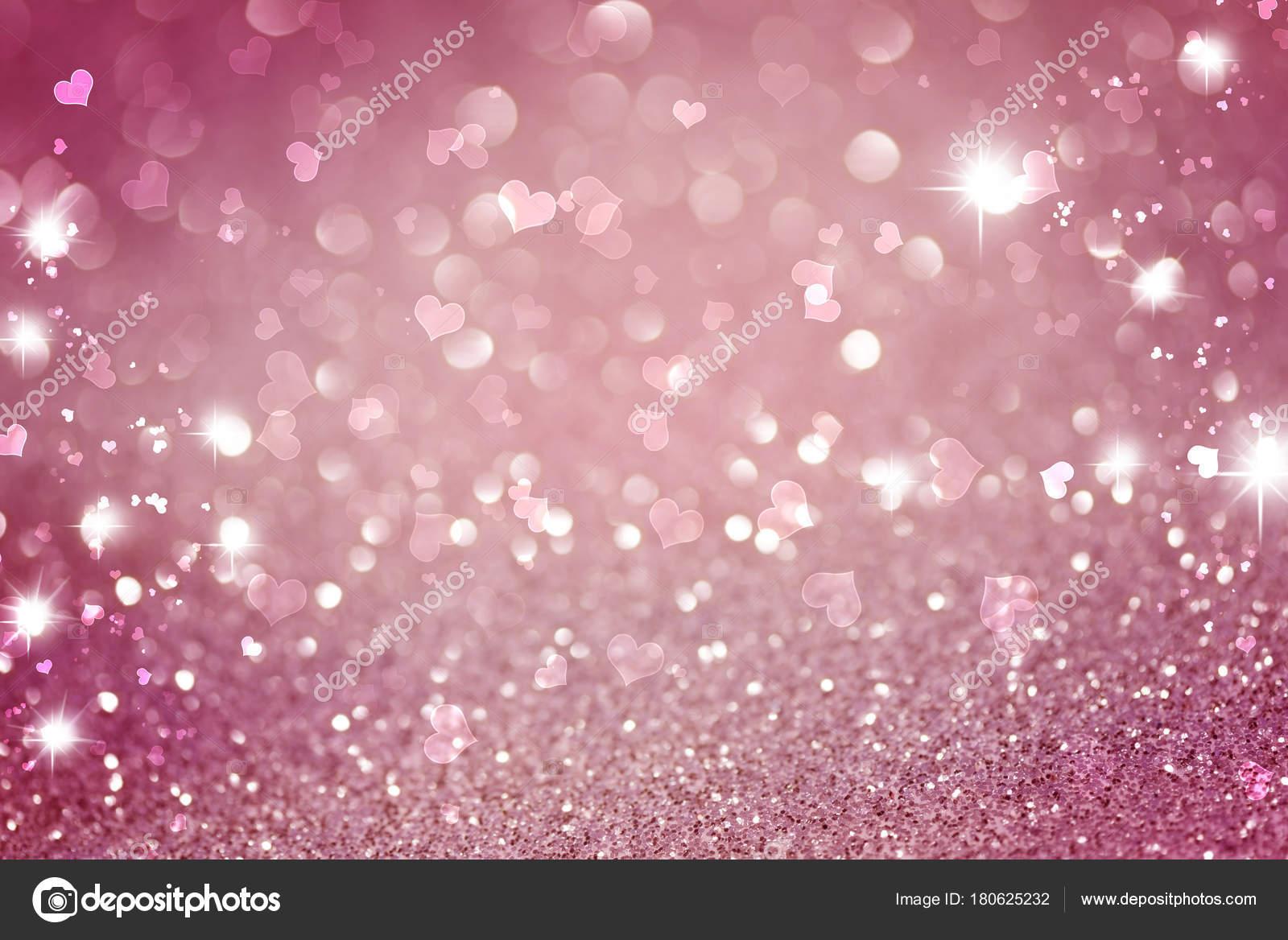 depositphotos 180625232 stock photo pink white glittering christmas lights