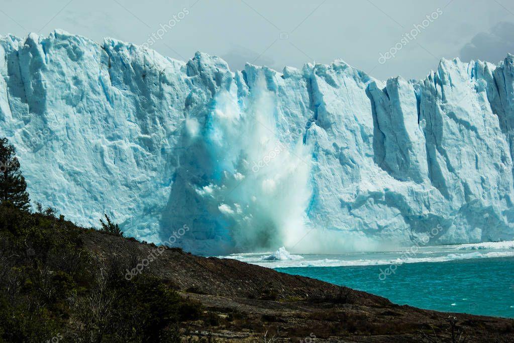 Glacial de Perito Moreno - Geleira