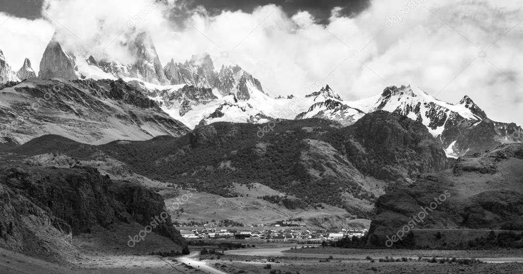 Monte Fitz Roy em El Calten - Patagnia Argentina