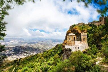 Norman Castle on Mount Erice