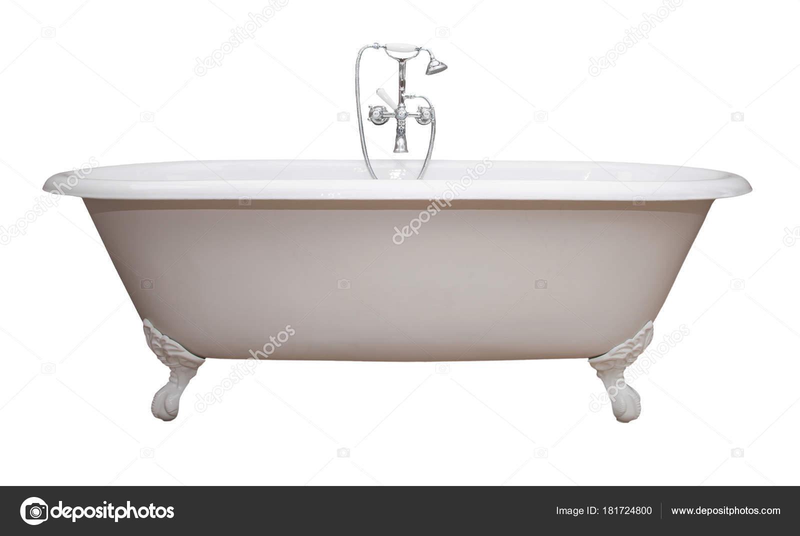 Vasca Da Bagno Metallo : Vasca bagno bellissimo stile classico piedi artiglio bianco con