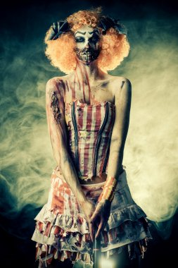 horror movie. Halloween.