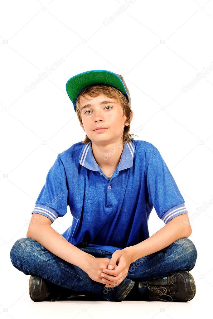 14 jahre alter junge stockfoto prometeus 124873046