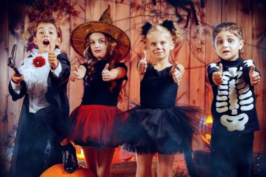 magic time. Halloween party.