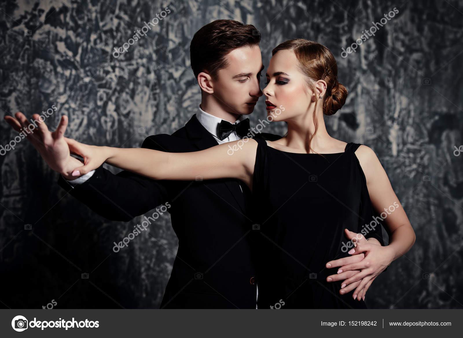 Leidenschaftliche Liebe Tanz — Stockfoto © prometeus