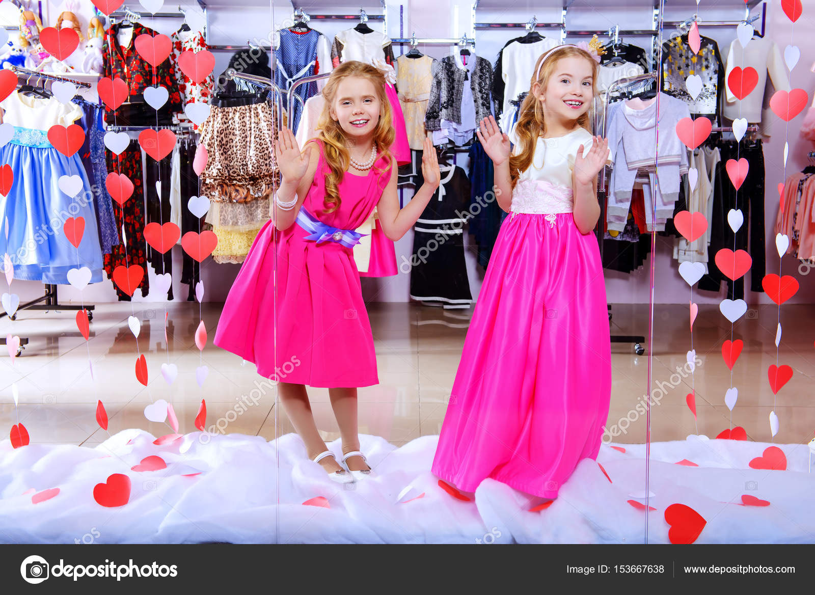 318b4383f clothing store for kids — Stock Photo © prometeus  153667638