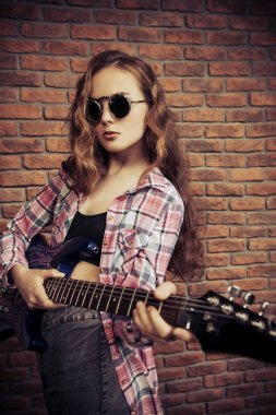 Professional rock singer