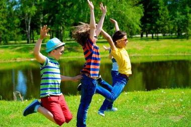 carefree childlike joy