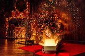 Fotografie apartmány zařízené na Vánoce