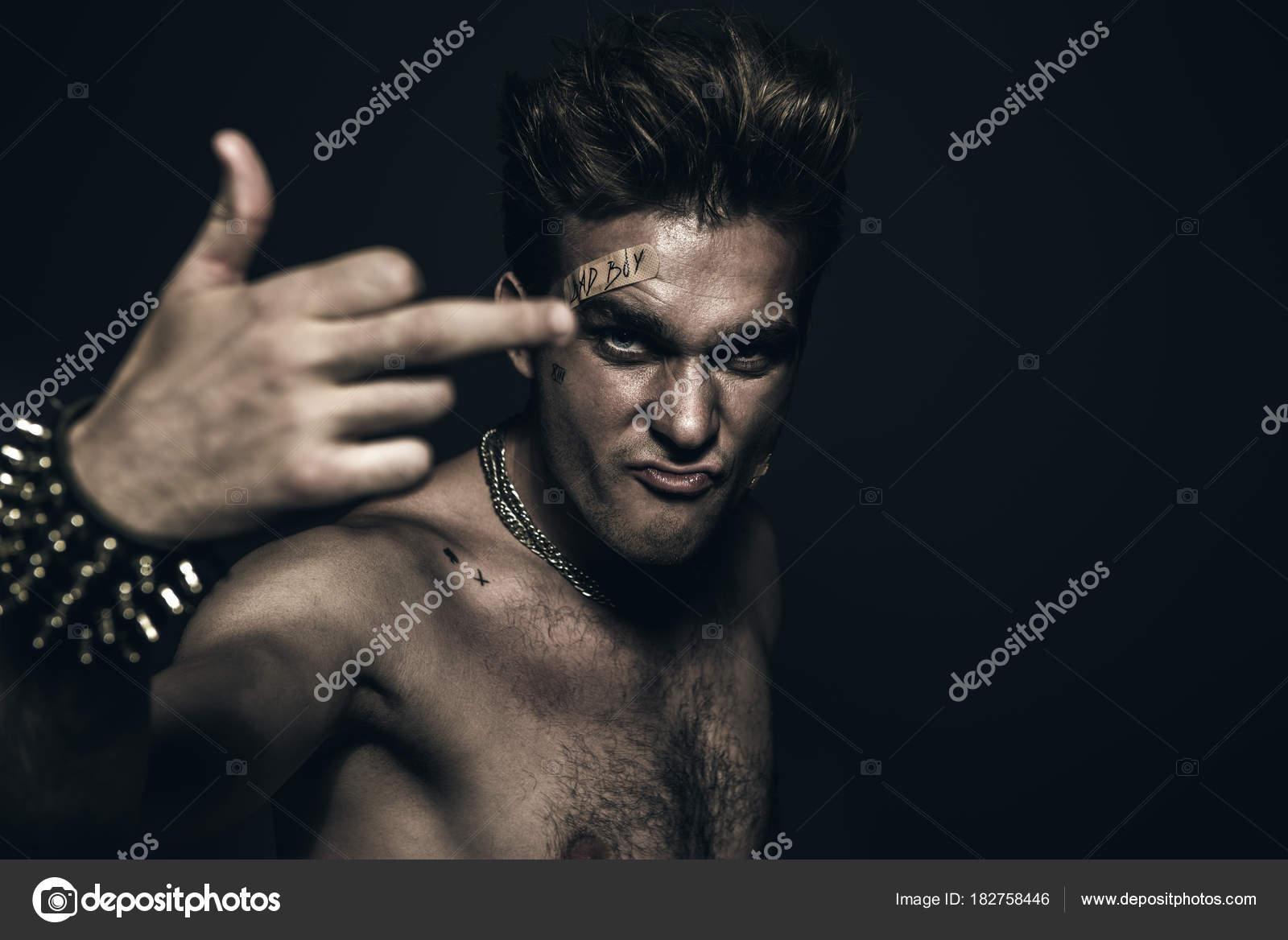 Concept Bad bad boy concept stock photo prometeus 182758446
