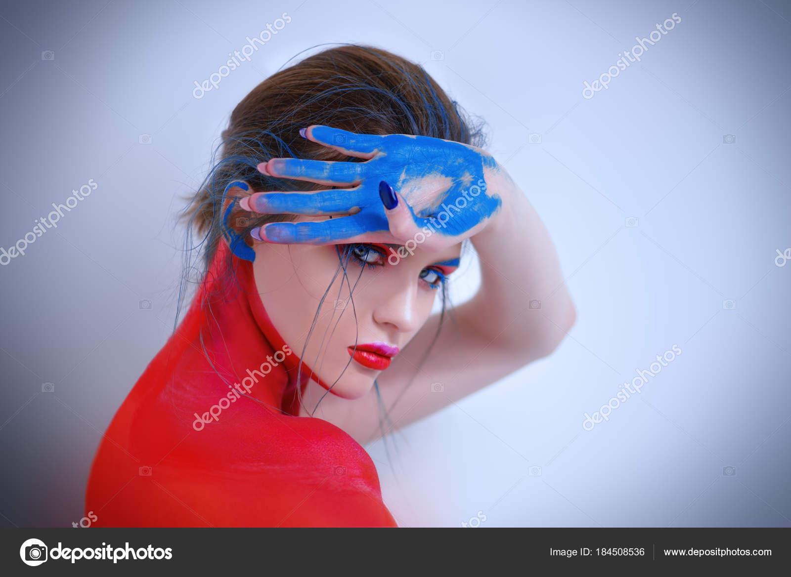 Creative Body Art Stock Photo C Prometeus 184508536