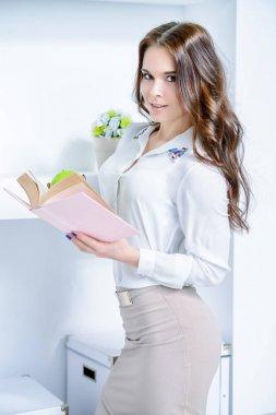 young beautiful teacher