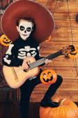 Herbst-Halloween-Party