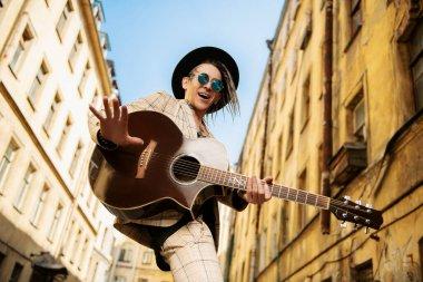 handsome street musician