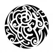 Fotografie Maori styl tetování