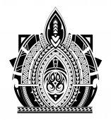 Maori tattoo sleeve stílus