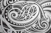 Maori stílus dísz