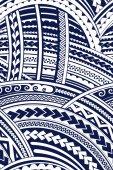 Ornamento di stile Maori