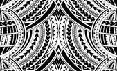 Ornamento di stile di Samoa