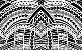 Ornamento di stile di Samoa.