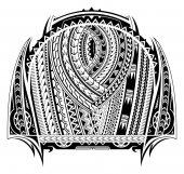 Fotografia Tatuaggio stile Maori