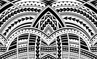 Samoa style ornament.