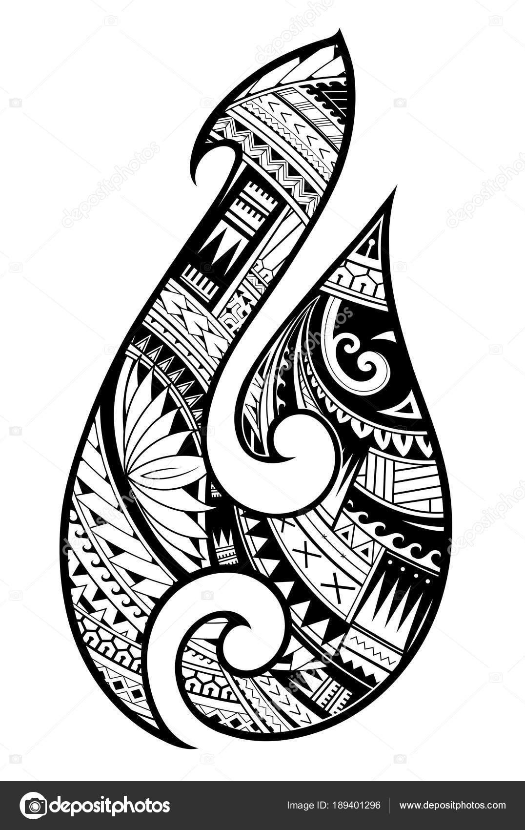Plantilla Para Tatuajes Maories Maories Del Tatuaje De Estilo - Fotos-de-maories