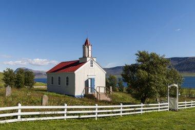 Church Hrafnseyri on Iceland