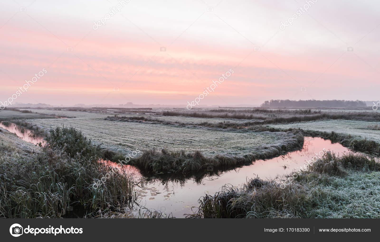 Winter Morning In Overijssel Giethoorn Stockfoto C Kloeg008 170183390