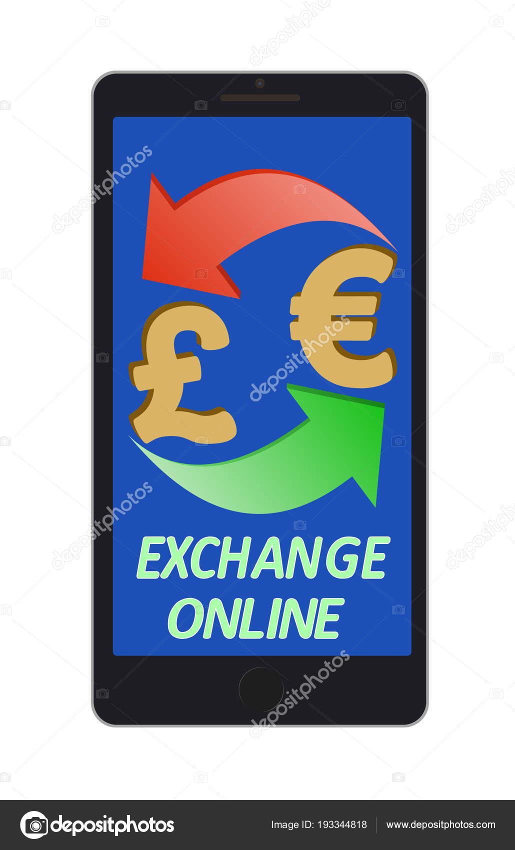 Change De La Livre Sterling A L Euro Sur Un Ecran De