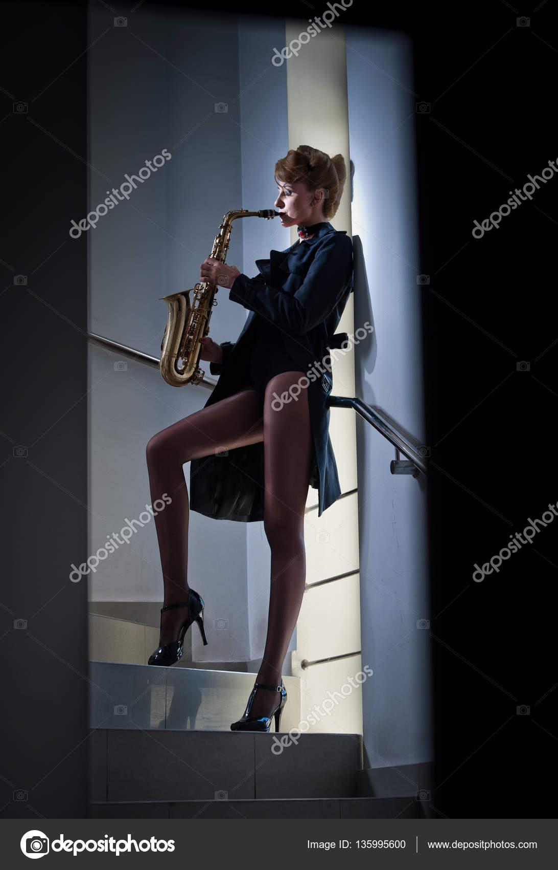 Sexy sax women