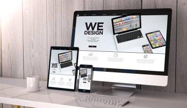 Digital generated devices on desktop