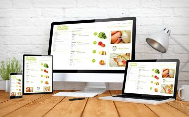 online supermarket screen multidevices
