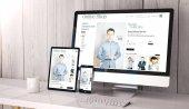 3D rendering online bolt a képernyők, asztali számítógép, tábla-pc és érintőképernyős okostelefon